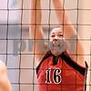 Kyle Bursaw - kbursaw@daily-chronicle.com<br /> <br /> Indian Creek's Anna Ostrander (16) tries for a block against the Hinckley-Big Rock Royals in the IHSA Girls Volleyball Regional on Saturday Oct. 30, 2010 at Hinckley-Big Rock High School.