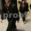 Wendy Kemp - For The Daily Chronicle<br /> <br /> The processional begins during the DeKalb High School graduation ceremony at the Convocation Center at Northern Illinois University on Saturday.