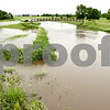 Rob Winner – rwinner@daily-chronicle.com<br /> <br /> The River Heights Golf Course in the southern part of the city of DeKalb was flooded Thursday in areas near the Kishwaukee River. Several inches of rain fell Wednesday night and Thursday in the area, and more rain was predicted overnight. The Kishwaukee River is expected to be near flood stage today. For more on the weather, turn to Page A4.