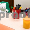 Kyle Bursaw – kbursaw@daily-chronicle.com<br /> <br /> The child interview room is stocked with a couple stuffed animals, coloring materials and sometimes Play-Doh depending on the child's age. The room is located in the Family Service Agency building in DeKalb, Ill. <br /> <br /> Tuesday, April 26, 2011.
