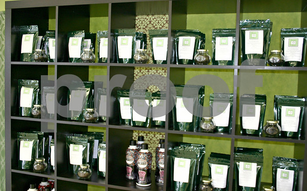 Babs and Coco's Tea Emporium in DeKalb, which opened last month, offers 100 types of loose-leaf teas from around the world. Customers can see and smell each of the teas in glass jars while making a selection.<br /> <br /> By NICOLE WESKERNA - nweskerna@daily-chronicle.com