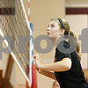 Rob Winner – rwinner@daily-chronicle.com<br /> <br /> Kate Thuestad times her block during practice at Indian Creek in Shabbona, Ill., on Friday, Aug. 12, 2011.