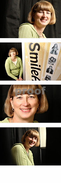Rob Winner – rwinner@daily-chronicle.com<br /> <br /> Lisa Gudmunson, of Somonauk, has started a new photo-booth rental business named Smile Awhile Photo Booth.<br /> <br /> Somonauk, Ill.<br /> Monday January 10, 2011