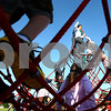 Kyle Bursaw – kbursaw@shawmedia.com<br /> <br /> Founders Elementary students play on the playground before entering the school on the first day on Tuesday, Sept. 6, 2011.