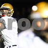 Kyle Bursaw – kbursaw@shawmedia.com<br /> <br /> Sycamore quarterback Ryan Bartels looks to pass in the first quarter of their game in Rochelle, Ill. on Friday, Oct. 7, 2011.