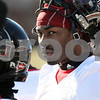 Kyle Bursaw – kbursaw@daily-chronicle.com<br /> <br /> Martel Moore on the sidelines at practice at Huskie Stadium on Thursday, March 24, 2011.