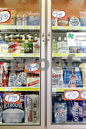 Rob Winner – rwinner@daily-chronicle.com<br /> <br /> Wisted's Country Market in Shabbona recently began selling liquor to help boost sales.
