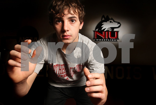 Kyle Bursaw – kbursaw@daily-chronicle.com<br /> <br /> Northern Illinois' Nick Smith is 22-7 on a six-match winning streak coming into this weekend's MAC Wrestling Championships.<br /> <br /> Tuesday, March 1, 2011.