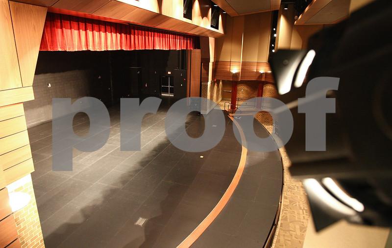 Kyle Bursaw – kbursaw@daily-chronicle.com<br /> <br /> The auditorium of the new DeKalb High School, taken on Friday, July 29, 2011.