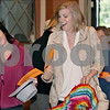 Wendy Kemp – For The Daily Chronicle<br /> <br /> Shannon Haile (left) and Emily Bidstrup, of DeKalb, pick up their numbers for the casting call at the Egyptian Theatre on Sunday.<br /> <br /> DeKalb, Ill.<br /> September 18, 2011