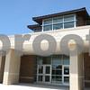 Kyle Bursaw – kbursaw@daily-chronicle.com<br /> <br /> Front entrance of the new DeKalb High School, taken on Friday, July 29, 2011.
