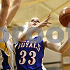 Rob Winner – rwinner@daily-chronicle.com<br /> <br /> Hinckley-Big Rock's Tess Godhardt takes a shot during the second quarter of the IHSA Class 1A Sectional game in Hinckley, Ill., on Monday February 14, 2011.