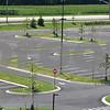 Kyle Bursaw – kbursaw@daily-chronicle.com<br /> <br /> The parking lot of the new DeKalb High School, taken on Friday, July 29, 2011.