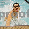 Rob Winner – rwinner@shawmedia.com<br /> <br /> Kei Ishimaru, of the DeKalb-Sycamore co-op swimming team, touches the pool's edge while competing in the 100 butterfly in DeKalb, Ill., on Thursday, Dec. 15, 2011.