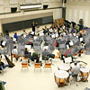 "Rob Winner – rwinner@daily-chronicle.com<br /> <br /> The Kishwaukee Symphony Orchestra reheares at Northern Illinois University in DeKalb on Monday night. The orchestra is performing its last concert of the 2010-11 season, featuring the ""Titan"" and ""Jupiter"" symphonies on April 30."