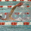 Rob Winner – rwinner@shawmedia.com<br /> <br /> Marc Dubrick, of the DeKalb-Sycamore co-op swimming team, competes in the 500 free in DeKalb, Ill., on Thursday, Dec. 15, 2011.