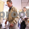 Kyle Bursaw – kbursaw@daily-chronicle.com<br /> <br /> Kenton and Marlee Clymer submit their ballots into a counting machine at Oak Crest Retirement Center in DeKalb, Ill. on Tuesday, April 5, 2011.