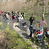 Kyle Bursaw – kbursaw@daily-chronicle.com<br /> <br /> Participants in the March for Babies walk    on a bike path near Hopkins Park in DeKalb, Ill. on Saturday, April 30, 2011.