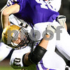 Kyle Bursaw – kbursaw@shawmedia.com<br /> <br /> Sycamore linebacker Jordan Kalk tackles Rochelle running back Kane Rodriguez in the first quarter of their game in Rochelle, Ill. on Friday, Oct. 7, 2011.