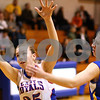 Kyle Bursaw – kbursaw@shawmedia.com<br /> <br /> Hinckley-Big Rock's Abbie Tosch tries to come up with an offensive rebound near Somonauk's Allison Humes (right) during the first quarter of their game in Hinckley on Monday, Dec. 5, 2011.