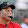 Kyle Bursaw – kbursaw@shawmedia.com<br /> <br /> Northern Illinois head coach Dave Doeren walks the sidelines during the game against Army at Huskie Stadium in DeKalb, Ill. on Saturday, Sept. 3, 2011.