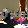 "Kyle Bursaw – kbursaw@shawmedia.com<br /> <br /> Vicke Heins (left) and Bobbi Wiseman apply pressure to their arms after giving blood at Kishwaukee Hospital on Wednesday, Sept. 7, 2011.<br /> <br /> Heartland Blood Centers will hold a blood drive from 1-5 p.m. Wednesday in the garden level conference room of Kishwaukee Community Hospital. Those looking for a way to pay respects to the lives lost in 9/11 can donate blood. Those interestedin giving blood can call 815-756-1521, ext. 151000, or go to  <a href=""http://www.heartlandbc.org"">http://www.heartlandbc.org</a> to sign up. Walk-ins are welcome, but a largecrowd is expected. All donors will receive a ""Remember 9.11"" T-shirt and coupons for pints of Ben & Jerry's Ice Cream."