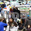 Kyle Bursaw – kbursaw@shawmedia.com<br /> <br /> Best Buy shoppers check out in one corner of the store as others look for their purchases shortly after the store's midnight opening on Friday, Nov. 25, 2011.