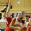 Rob Winner – rwinner@daily-chronicle.com<br /> <br /> Yorkville's Ali Hester tries to defend DeKalb's Kelli Gerace during the second quarter of their game in DeKalb, Ill. on Tuesday, Jan. 18, 2011.