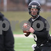Kyle Bursaw – kbursaw@daily-chronicle.com<br /> <br /> Quarterback Jordan Lynch (6) does some footwork drills during practice at Huskie Stadium on Tuesday, March 22, 2011.
