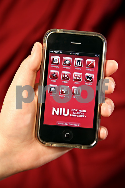 Photo Illustration by Rob Winner<br /> <br /> There is now an app for Northern Illinois University. Smartphone users can now look at sports schedules, student events, campus maps and more.