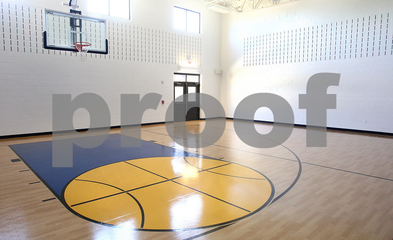 Kyle Bursaw – kbursaw@daily-chronicle.com<br /> <br /> A new multi-purpose room has a half-court gym but will also be used to expand the space of the existing lunchroom in the Hiawatha School building.<br /> <br /> Tuesday, May 17, 2011.