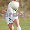 Rob Winner – rwinner@daily-chronicle.com<br /> <br /> Kaneland's Taylor White moves the ball upfield during the first half in Maple Park, Ill., on Wednesday, April 6, 2011. Sycamore defeated Kaneland, 4-1.