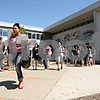 Rob Winner – rwinner@daily-chronicle.com<br /> <br /> Students leave DeKalb High School as the last full day of classes finish on Wednesday afternoon.