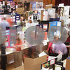 Kyle Bursaw – kbursaw@daily-chronicle.com<br /> <br /> Judges, exhibitors and viewers walk through a portion of the 2011 Illinois Junior Academy of Science – Northern Region V Science Fair Regional Project Session Semi-Finals in the Holmes Student Center at NIU on Saturday, March 12, 2011.
