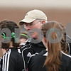 Rob Winner – rwinner@daily-chronicle.com<br /> <br /> Indian Creek coach Don Hunt gathers his team before the start of their game at Genoa-Kingston on Thursday, March 17, 2011.