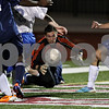 Rob Winner – rwinner@shawmedia.com<br /> <br /> Hinckley-Big Rock goalkeeper Forrest Grivetti looks to control a loose ball in front of the Royals' goal during the first half of a Class 1A Naperville Central Super Sectional on Tuesday, October 25, 2011.