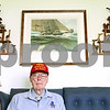 Kyle Bursaw – kbursaw@daily-chronicle.com<br /> <br /> World War II veteran Tony Berg, pictured here in his living room, went on an honor flight to Washington D.C. earlier this week with his two brothers who are also veterans.<br /> <br /> Friday, April 29, 2011.
