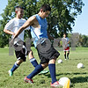 Rob Winner – rwinner@daily-chronicle.com<br /> <br /> Luis Martinez, a junior at Hiawatha, takes a shot during practice on Thursday, Aug. 11, 2011, in Kirkland, Ill.