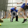 Rob Winner – rwinner@daily-chronicle.com<br /> <br /> DeKalb's Vicki Von Bergen during softball practice at the DeKalb Park District Sports and Recreation Center on Tuesday, March 8, 2011.