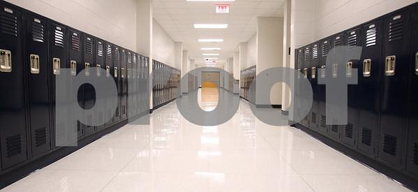 Kyle Bursaw – kbursaw@daily-chronicle.com<br /> <br /> The main hallway of the the new Hiawatha Elementary School in Kirkland, Ill. on Tuesday, May 17, 2011.