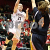 Rob Winner – rwinner@daily-chronicle.com<br /> <br /> Northern Illinois guard Courtney Shelton (21) takes a shot during the first half on Saturday, Feb. 26, 2011 in DeKalb, Ill.