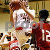 Rob Winner – rwinner@daily-chronicle.com<br /> <br /> DeKalb forward Jake Jouris goes up for a shot during the first quarter on Friday, Jan. 14, 2011 in DeKalb, Ill.