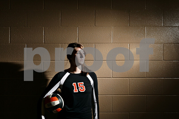 Rob Winner – rwinner@shawmedia.com<br /> <br /> DeKalb's Emily Bemis is the Daily Chronicle's 2011 volleyball player of the year.<br /> <br /> DeKalb, Ill.<br /> Wednesday, Nov. 9, 2011