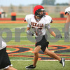 Kyle Bursaw – kbursaw@shawmedia.com<br /> <br /> DeKalb running back Dylan Hottsmith looks back for a pass while running a short route during practice at DeKalb High School on Tuesday, Sept. 27, 2011.