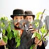 "Rob Winner – rwinner@daily-chronicle.com<br /> <br /> Gavin Wilson (left) and Chris Porterfield rehearse a scene from ""Waiting for Godot"" at Northern Illinois University in Dekalb on Thursday evening."