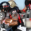 Rob Winner – rwinner@shawmedia.com<br /> <br /> After a reception, Northern Illinois wide receiver Nathan Palmer (81) picks up three yards on a reception during the second quarter in DeKalb, Ill., on Saturday, Oct. 15, 2011. Northern Illinois defeated Western Michigan, 51-22.