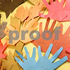 Kyle Bursaw – kbursaw@daily-chronicle.com<br /> <br /> Many children have traced and cut out their hands to put up on the wall of the Children's Waiting Room in the DeKalb County Courthouse. <br /> <br /> Taken in Sycamore, Ill. on Wednesday, May 4, 2011.