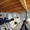 Kyle Bursaw – kbursaw@daily-chronicle.com<br /> <br /> Hiawatha baseball players Will Wittwer (left) and Brad Baxter sit in the dugout at Hiawatha high school before a game on Wednesday, April 6, 2011. The batting cage and dugouts at the field are dedicated to Wittwer's cousin, Matt, who died of leukemia in 2010.