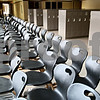 Rob Winner – rwinner@daily-chronicle.com<br /> <br /> Chairs have begun arriving at the new DeKalb High School on Wednesday, Feb. 23, 2011.