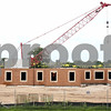 Rob Winner – rwinner@daily-chronicle.com<br /> <br /> Walls have been erected at the site of the new student residence hall at Northern Illinois University as seen on Thursday, July 28, 2011, in DeKalb, Ill.<br /> <br /> **Feel free to overlay text if you need to. - Rob